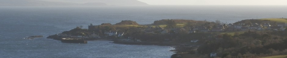 Carradale Harbour on Kintyre